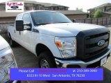 2015 Oxford White Ford F250 Super Duty XL Crew Cab 4x4 #106334508