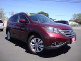 2013 Basque Red Pearl II Honda CR-V EX-L #106334725