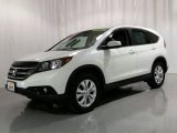 2014 White Diamond Pearl Honda CR-V EX AWD #106363375
