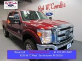 2015 Ruby Red Ford F250 Super Duty XLT Crew Cab 4x4 #106362948