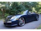 2012 Dark Blue Metallic Porsche 911 Carrera S Cabriolet #106362942