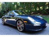 2012 Porsche 911 Dark Blue Metallic