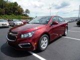 2016 Siren Red Tintcoat Chevrolet Cruze Limited LT #106363150