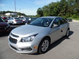 2016 Silver Ice Metallic Chevrolet Cruze Limited LS #106363138