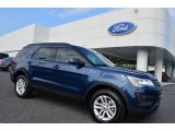 2016 Blue Jeans Metallic Ford Explorer 4WD #106363073