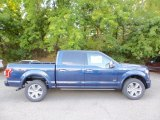 2015 Blue Jeans Metallic Ford F150 Platinum SuperCrew 4x4 #106397681