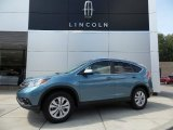 2014 Mountain Air Metallic Honda CR-V EX-L AWD #106420026