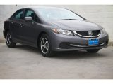 2015 Modern Steel Metallic Honda Civic SE Sedan #106420053