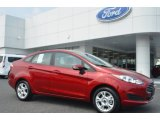 2015 Ruby Red Metallic Ford Fiesta SE Sedan #106426080