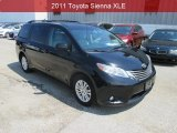 2011 Black Toyota Sienna XLE #106444335