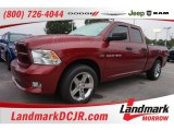 2012 Deep Cherry Red Crystal Pearl Dodge Ram 1500 ST Quad Cab #106444265