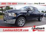 2015 True Blue Pearl Ram 1500 Laramie Crew Cab #106444229