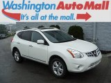 2013 Pearl White Nissan Rogue SV AWD #106444178