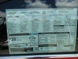 2016 Chevrolet Cruze Limited LTZ Window Sticker