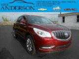 2015 Buick Enclave Crimson Red Tintcoat