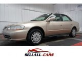 2002 Naples Gold Metallic Honda Accord LX Sedan #106479021