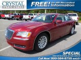 2012 Deep Cherry Red Crystal Pearl Chrysler 300  #106479399