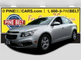 2016 Silver Ice Metallic Chevrolet Cruze Limited LT #106479088
