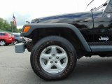 Jeep Wrangler 2005 Wheels and Tires