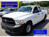 2012 Bright White Dodge Ram 1500 ST Quad Cab 4x4 #106507548