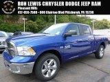 2015 Blue Streak Pearl Ram 1500 Big Horn Crew Cab 4x4 #106539346