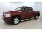 2008 Chevrolet Silverado 1500 Z71 Extended Cab 4x4 Front 3/4 View
