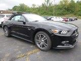 2015 Black Ford Mustang GT Premium Convertible #106539195