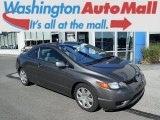 2006 Galaxy Gray Metallic Honda Civic LX Coupe #106539189