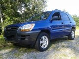 2006 Kia Sportage Smart Blue