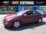 2016 Siren Red Tintcoat Chevrolet Cruze Limited LT #106539117