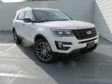 2016 Ford Explorer White Platinum Metallic Tri-Coat