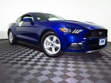 2015 Deep Impact Blue Metallic Ford Mustang V6 Coupe #106539366