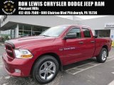 2012 Deep Cherry Red Crystal Pearl Dodge Ram 1500 ST Quad Cab 4x4 #106539357