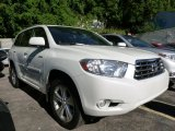 2010 Blizzard White Pearl Toyota Highlander Limited 4WD #106570241