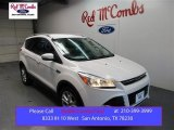 2016 White Platinum Metallic Ford Escape Titanium #106590537