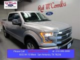 2015 Ingot Silver Metallic Ford F150 Platinum SuperCrew 4x4 #106590534