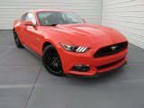 2015 Competition Orange Ford Mustang GT Premium Coupe #106590713