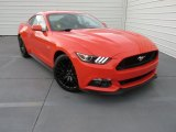 2015 Ford Mustang GT Premium Coupe Front 3/4 View