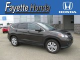 2013 Kona Coffee Metallic Honda CR-V EX AWD #106619650