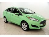 2014 Green Envy Ford Fiesta SE Sedan #106619641