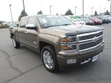 2014 Brownstone Metallic Chevrolet Silverado 1500 High Country Crew Cab 4x4 #106619611