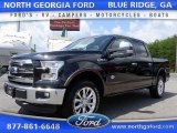 2015 Tuxedo Black Metallic Ford F150 King Ranch SuperCrew 4x4 #106619219
