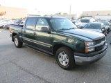 Dark Green Metallic Chevrolet Silverado 1500 in 2004