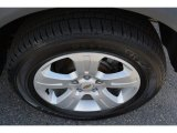 Chevrolet Captiva Sport Wheels and Tires