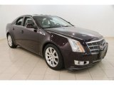 2009 Black Cherry Cadillac CTS 4 AWD Sedan #106692478