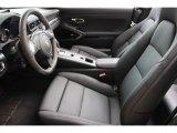 2016 Porsche 911 Carrera 4 Cabriolet Black Edition Front Seat