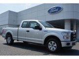 2015 Ingot Silver Metallic Ford F150 XL SuperCab #106692261