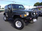 2006 Jeep Green Metallic Jeep Wrangler Sport 4x4 #106692423