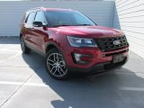2016 Ruby Red Metallic Tri-Coat Ford Explorer Sport 4WD #106692313