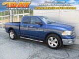 2011 Deep Water Blue Pearl Dodge Ram 1500 Big Horn Quad Cab 4x4 #106724535